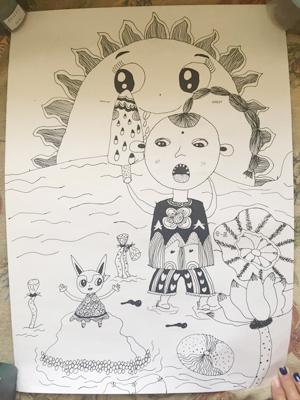 """""""我要上聊沈""""儿童节绘画作品开始投票"""