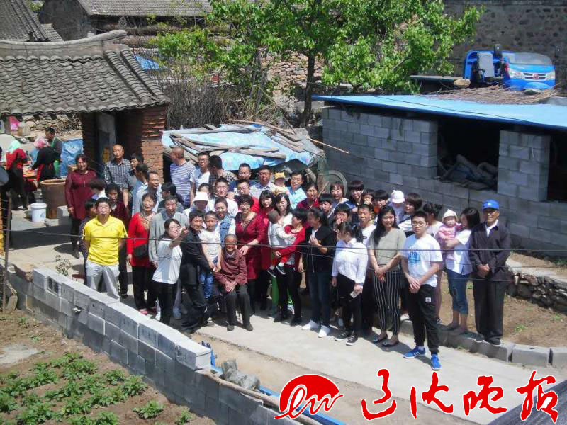 五一期间,位于大山深处的葫芦岛市绥中县加碑岩乡王台村的王占斌家