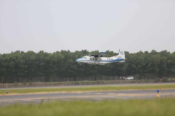 人工增雨飞机已起飞 沈阳北部下雨啦(视频)